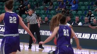WBB Highlights vs Central Arkansas 2018 Southland Tourney