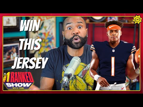 Former Ohio State QB Justin Fields is this good for Chicago, and you can win jersey in this giveaway