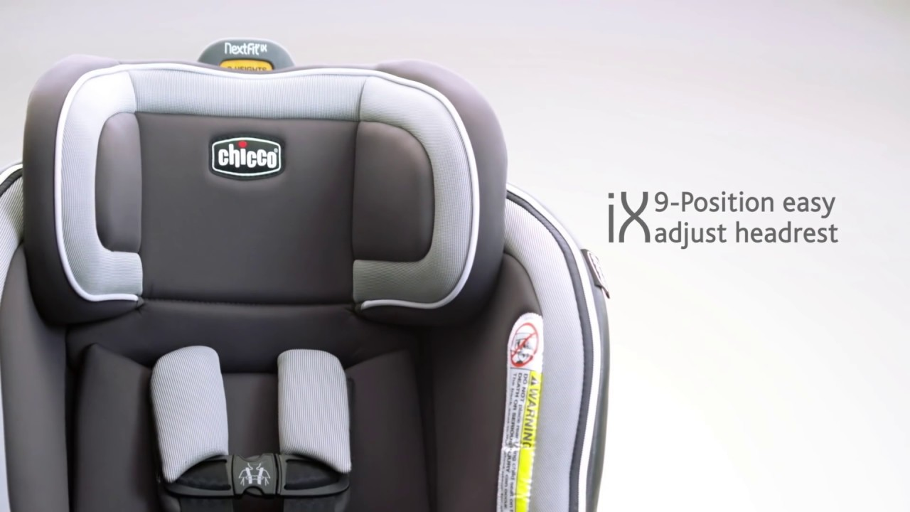 Chicco Nextfit Ix Convertible Car Seat Youtube