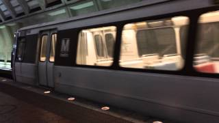 WMATA - No Passengers train arriving at Glenmont Station