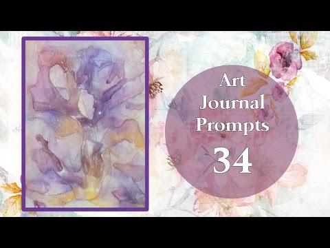 Art Journal Prompts -  Week 34