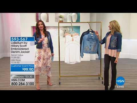 HSN | Hillary Scott Fashions 04.05.2018 - 01 PM