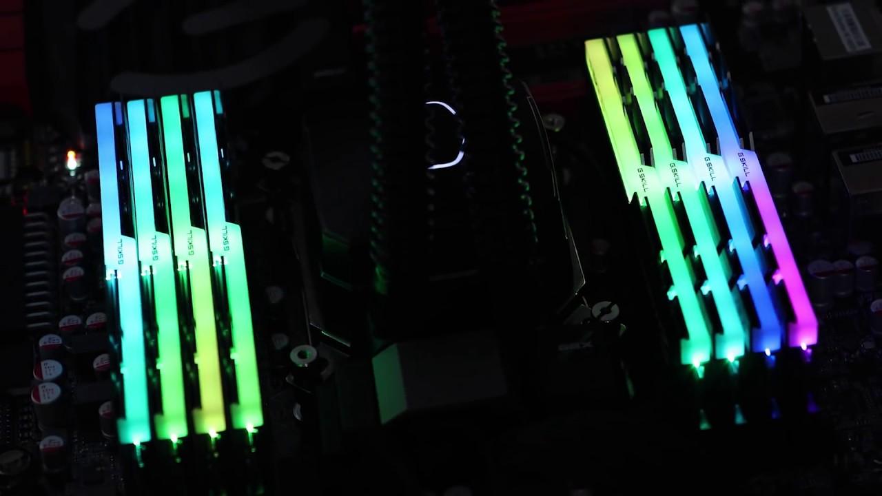 G Skill Trident Z RGB DDR4