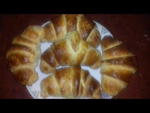 ¡Facilísimo! Cuernitos de Danés rellenos de queso crema, Deliciosos!!1