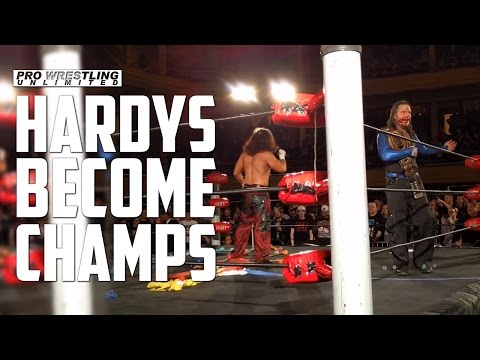 Hardy Become New ROH Tag Team Champions, Plus Post Match Promo (VIDEO)