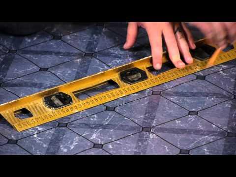 how-to-lay-peel-&-stick-tiles-over-linoleum-:-flooring-help