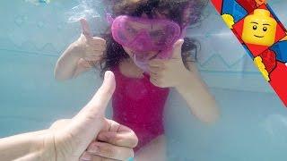 [jouet] Surprises Sous L'eau Avec Masque Et Tuba - Studio Bubble Tea Underwater Unboxing