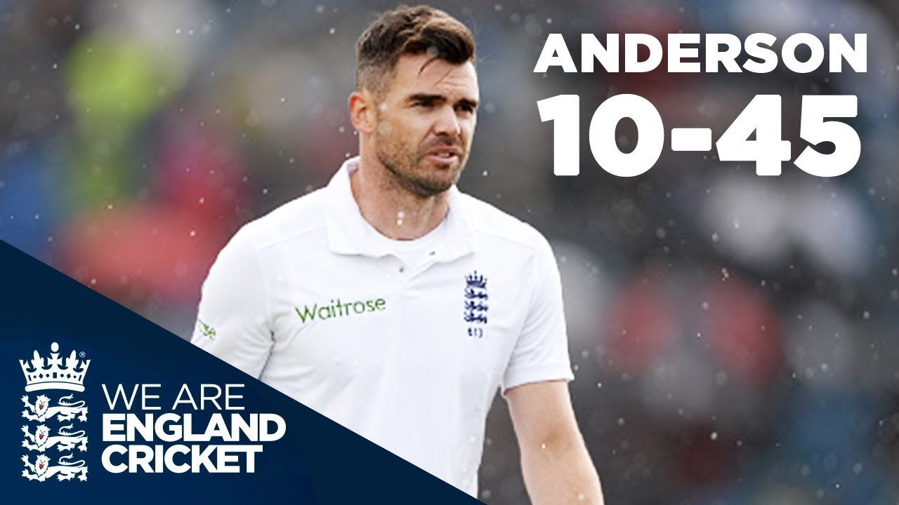 Anderson's Deadliest Spell? Jimmy Takes 10-45 at Headingley | England v Sri Lanka 2016 - Highli