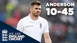 Anderson's Deadliest Spell? Jimmy Takes 10-45 at Headingley | England v Sri Lanka 2016 - Highlights