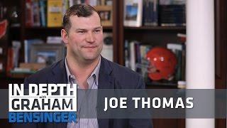Joe Thomas: I'm already experiencing memory loss