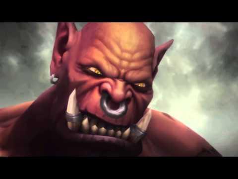 Thrall vs Garrosh Cinematic - Nagrand Finale