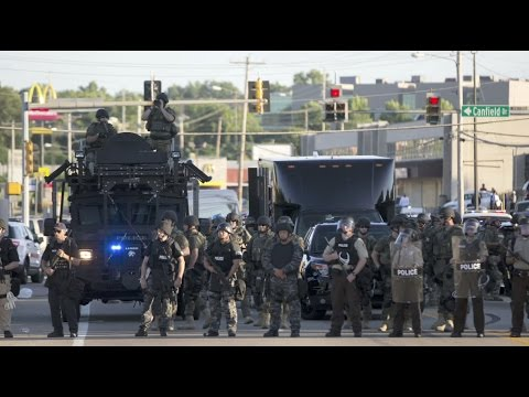 Is the militarization of police on the downswing?