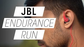 JBL Endurance Run Review and Unboxing Best Budget Workout Earphones under 20 Rs 1000
