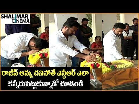 Jr NTR Pays Tribute to Rajiv Kanakala's...