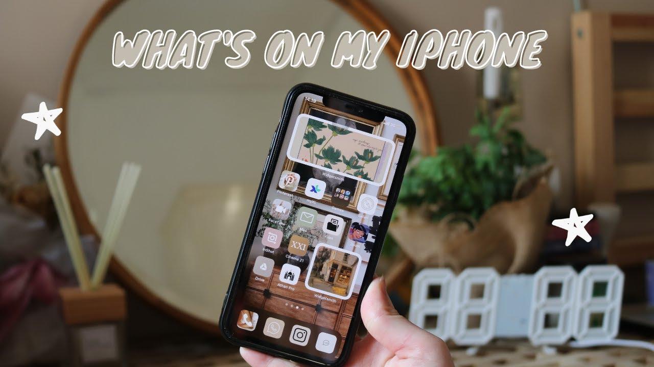What's On My Phone + Iphone Customization | Rafa Dhafina