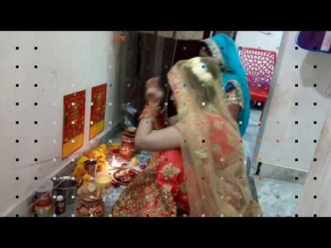 Karwa Chauth Vlog 2017 || How I Do Karwa Chauth Vrat And Pooja
