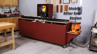 How To Build a Miter Saw Station