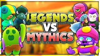 MYTHIC vs LEGENDARY :: Which team is better? Brawl Stars