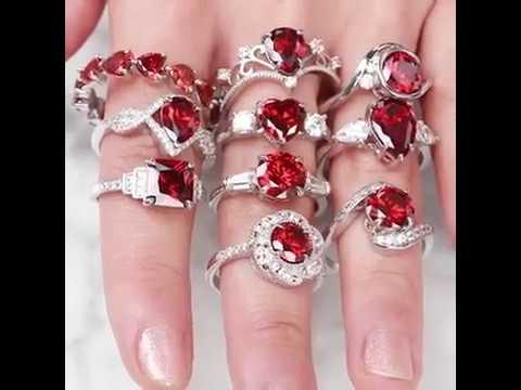 1957ad032 Fragrant Jewels Garnet: January Birthstone - Bath Bomb - YouTube