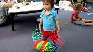 Гигантская пружинка для рук))))))) Giant Slinky