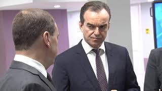 Премьер Дмитрий Медведев посетил одну из школ Краснодара. Новости Эфкате