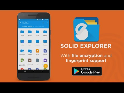 Solid Explorer File Encryption