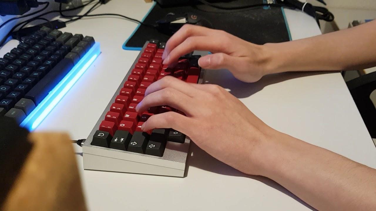 Zeal V2 Typing Test Youtube