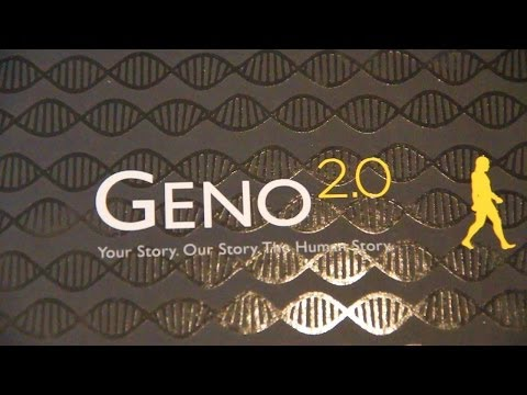 Geno 2.0 DNA Ancestry Kit, Review of National Geographic's Genographic Project Test Kit