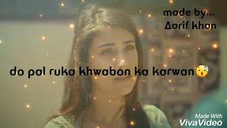 sad status do pal ruka veer zara