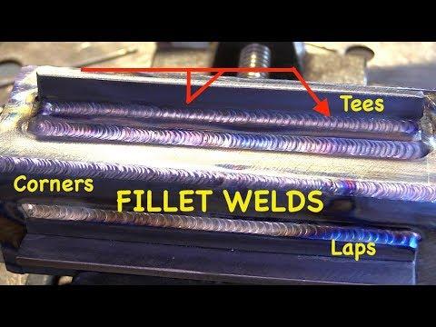 TIG Welding Carbon Steel Fillets