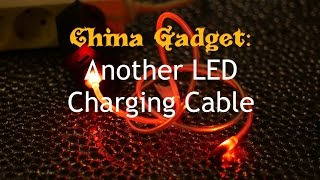 Live review: LED Charging cable