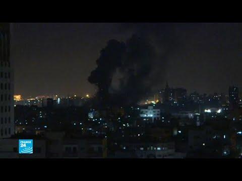 غارات جوية إسرائيلية على قطاع غزة بعد إطلاق صواريخ  - نشر قبل 3 ساعة