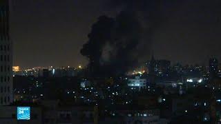 غارات جوية إسرائيلية على قطاع غزة بعد إطلاق صواريخ