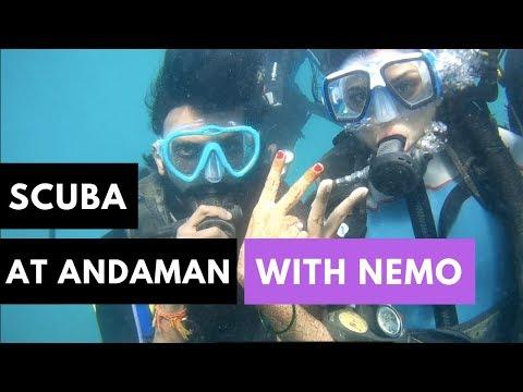 Scuba Diving at Andaman with Nemo - Rich Marine Life at Havelock Islands | Car Vloggers |