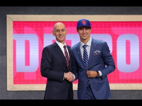 NBA Draft: Detroit Pistons Select Luke Kennard 12th Pick
