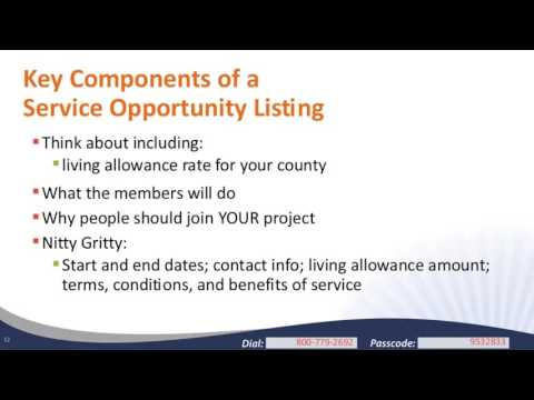 Crafting a Compelling Service Opportunity Listing