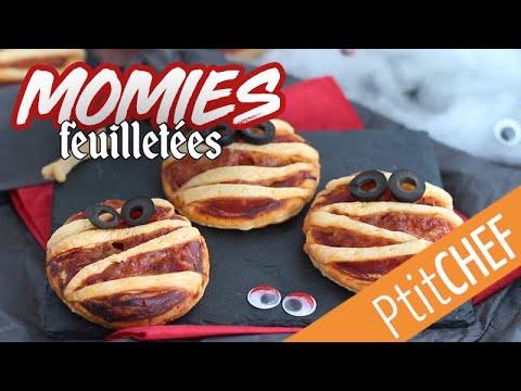 recette-de-pizzas-momies-pour-halloween---ptitchef.com