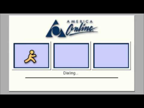 AOL (Sign On - Dial Up)