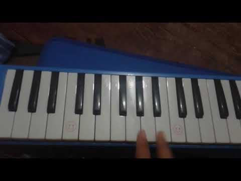 Not lagu seribu alasan pianika