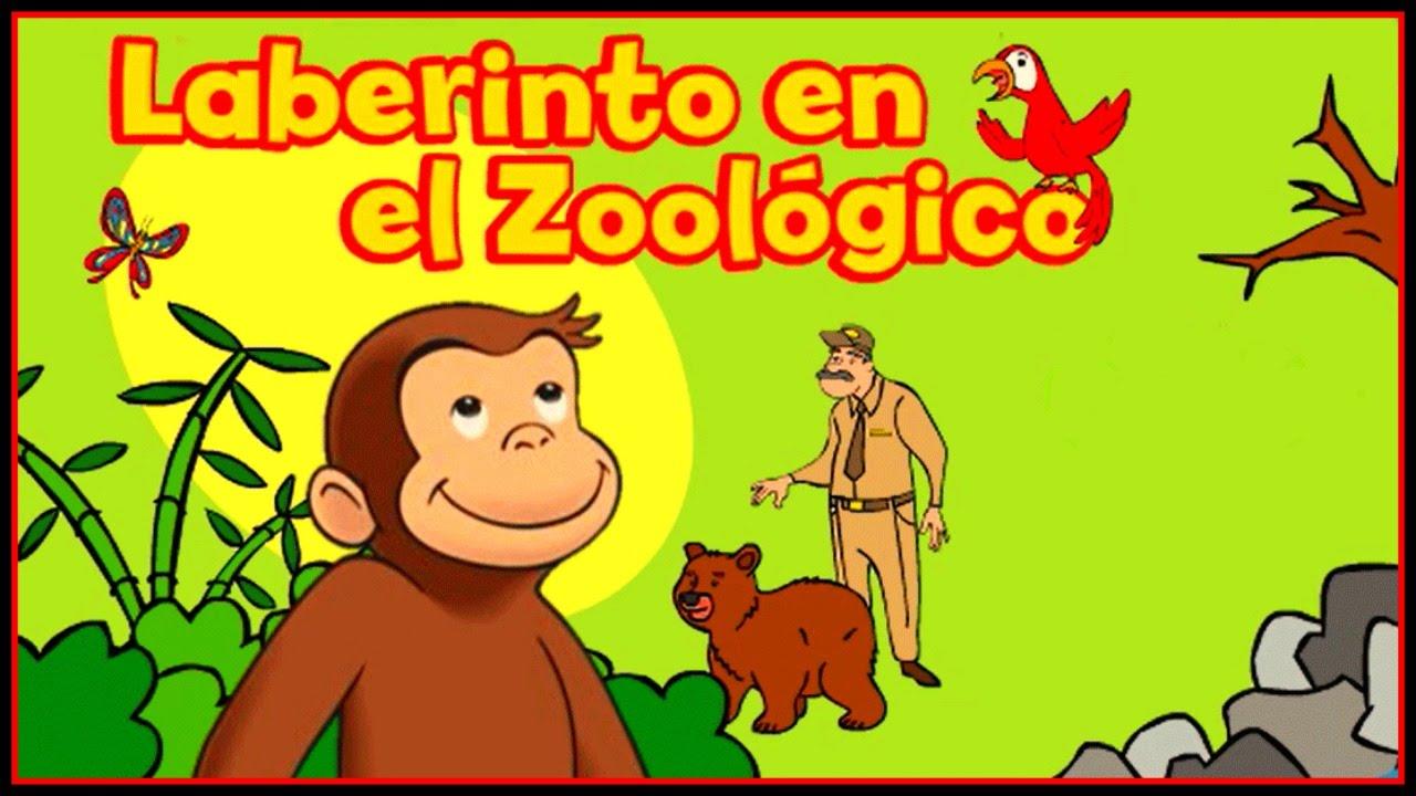 Curious George Jorge El Curioso Laberinto En El Zoologico