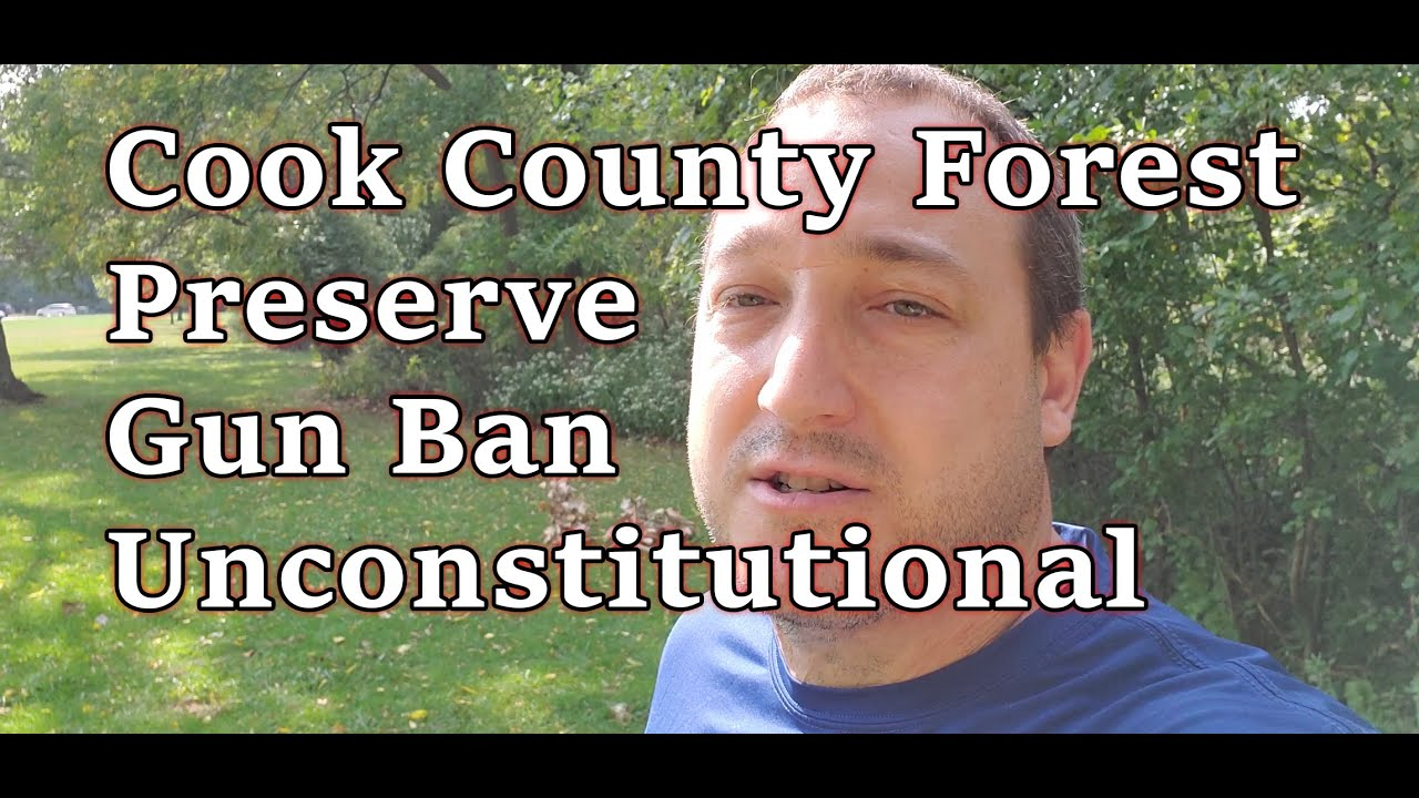 Judge Rules: Cook County Forest Gun Ban Unconstitutional! BUT DON'T CARRY YET.