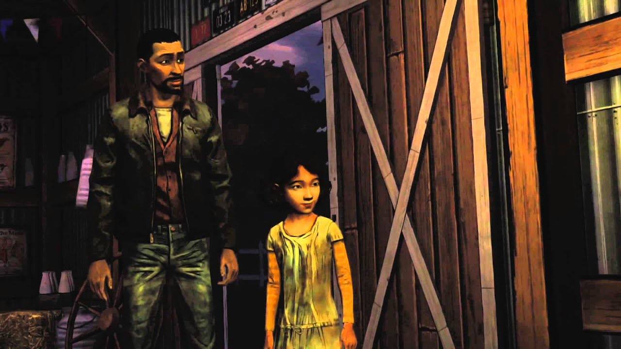 The Walking Dead Behind The Barn Door Episode 2 Starved For