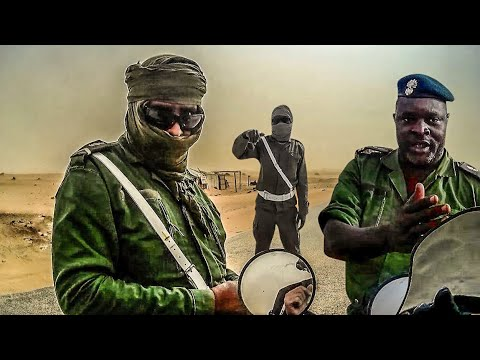 MILITARY CHECKPOINTS in MAURITANIA | Motorcycle World Tour | Africa #3