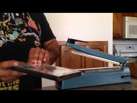 How To Shrink Wrap DVD's For Sale, or Repackaging with the Impulse Sealer