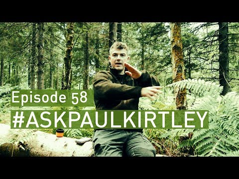Water Indicating Trees, Full Campfire Burnout, Ideal Winter Hot Tents   #AskPaulKirtley 58
