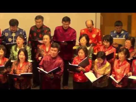 """""""I Sing Chinese"""" by CIUM Singers"""