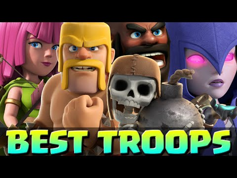 Clash of Clans - TOP 5 BEST FARMING TROOPS - Best Troop Strategies in Clash of Clans