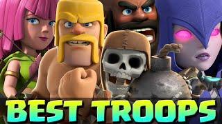 Clash of Clans - TOP 5 BEST FARMING TROOPS - Best Troop Strategies in Clash of Clans