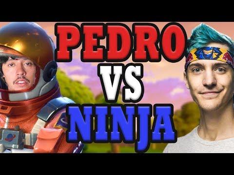 Pedro is Pro Streamer | Pedro Challenges Ninja in Fortnite Battle Royale