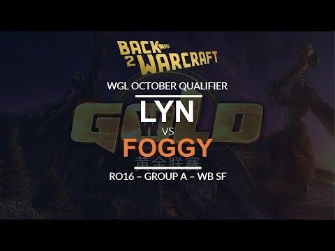 WGL:W 2018 - Oct Ro16 - WB SF (Grp A): [O] Lyn Vs. Foggy [N]